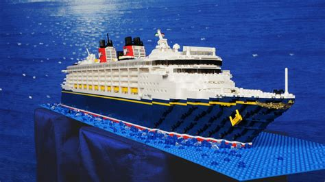LEGO Ideas - Disney Wonder Magic Fantasy Or Dream Cruise Ships