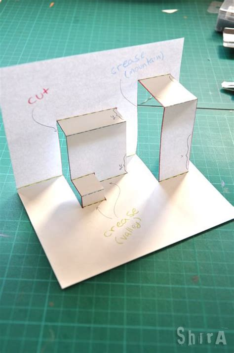 pop  tutorial  asymmetric box fold pop  cards