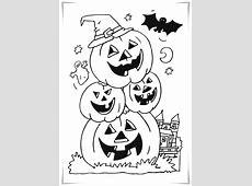 Ausmalbilder Halloween4 Ausmalbilder Malvorlagen