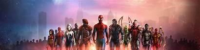 Spiderman Team 4k Wallpapers Superheroes Artwork Digital