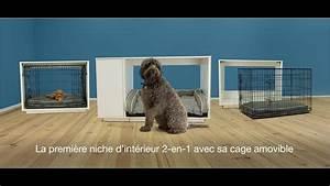 Niche Interieur Pour Chien : niche d int rieur 2 en 1 pour chiens omlet fido nook youtube ~ Melissatoandfro.com Idées de Décoration