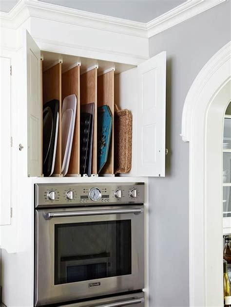 kitchen cabinet cookie sheet organizer kitchen cabinets that more slot storage and 7756
