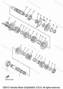 Yamaha Motorcycle 2003 Oem Parts Diagram For Transmission