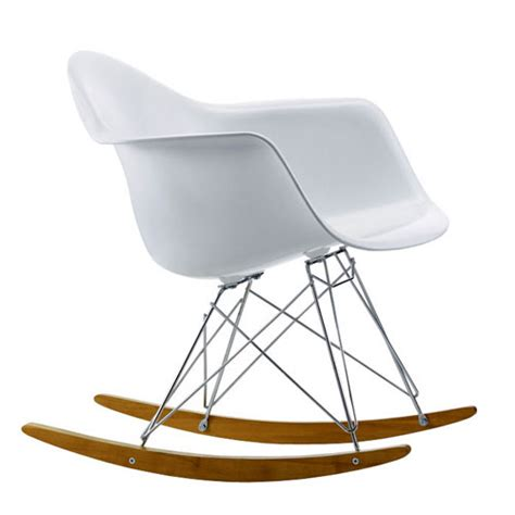 charles eames style rar rocking chair fibreglass review