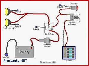 5 Pin Relay Wiring Diagram Driving Lights How To Wire Pressauto