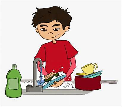 Dishes Wash Clipart Teach Ways Kindpng