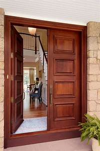 Contemporary Solid Modern Meranti Exterior Front Entry