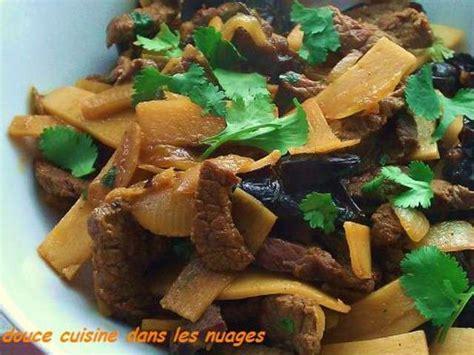 cuisiner les pousses de bambou les meilleures recettes de pousses de bambou et bœuf
