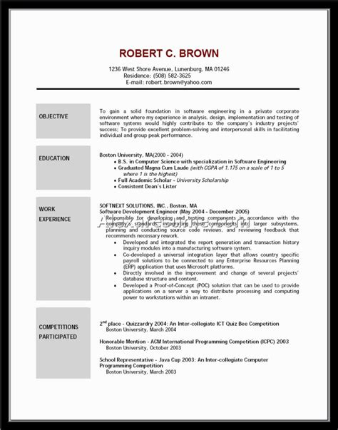 28 great resume objective statements exles of