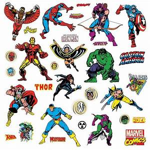 Comic Book Avengers Giant Stickers Great-Kidsbedrooms