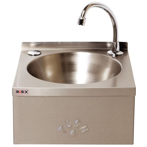 stainless steel commercial hand wash sinks basix cc260 knee operated hand wash sink