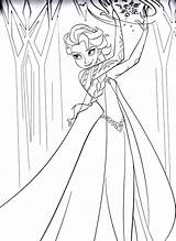 Frozen Coloring Print Elsa Printable Pages Powers Incredible Characters Disney Pixar Animation sketch template