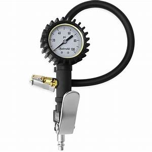Astroai Tire Inflator With Pressure Gauge  100 Psi