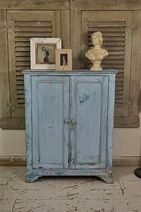 Rustic, Blue, Shabby, Chic, Cupboard, -, The, Treasure, Trove