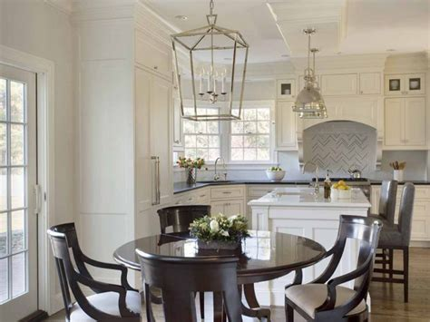lantern lighting  kitchen table ideas