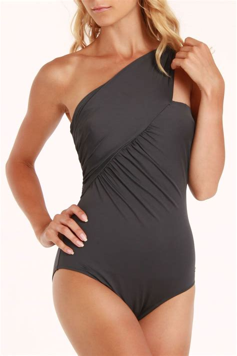 Powder Room Indira Off Shoulder Onepiece Swimsuit In