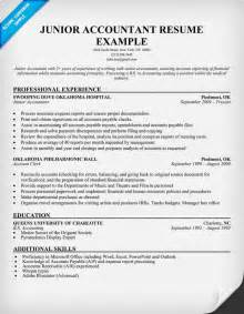 exle of accountant resume free resume sles for accounting