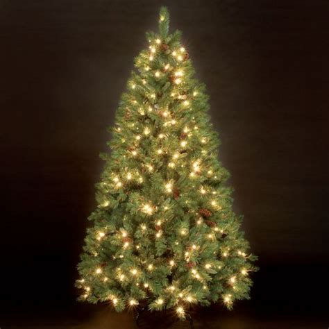 buy 7ft douglas pine pre lit christmas tree from our