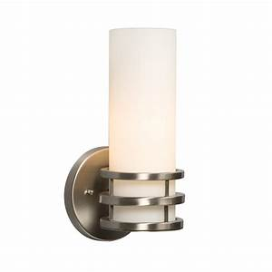 Galaxy lighting 701321bn avalon 1 light wall sconce for Bathroom lighting sconces