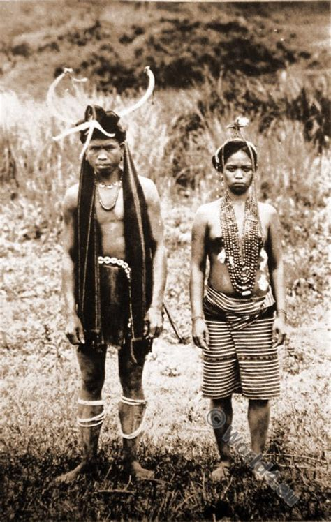 igorot native ifugao couple philippine islands