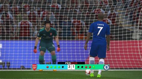Arsenal vs Chelsea - Community Shield 2017 Penalty ...