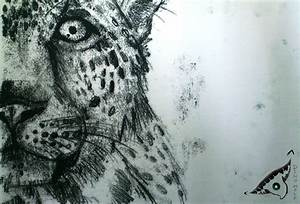 Monoprint leopard by dino wolf on deviantart for Mooprints