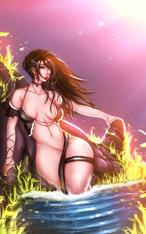The Witcher Yennefer By Delacroixlegion Hentai Foundry