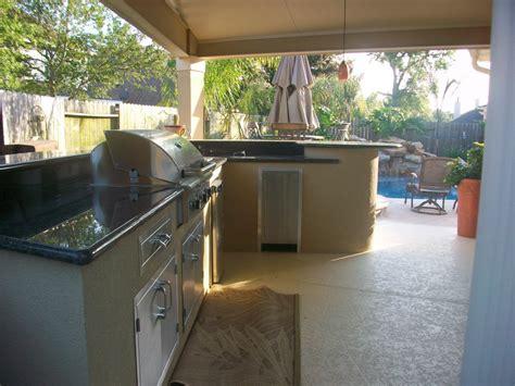 outdoor kitchen builders in houston lone patio