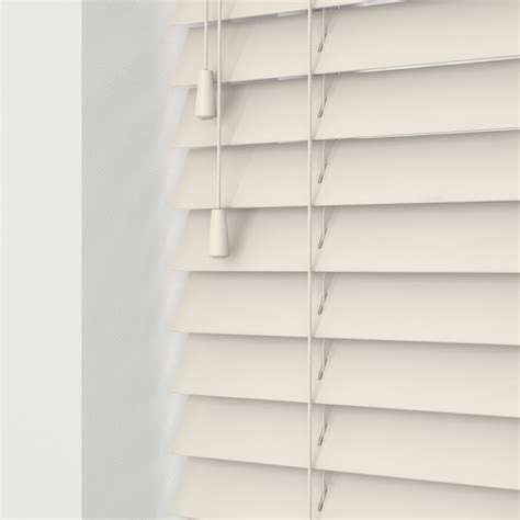 cheapest blinds uk  cream faux wood  cords