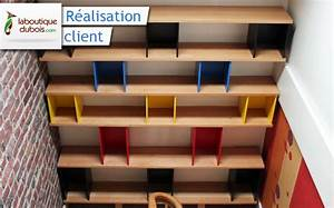 Bibliothèque Design Bois : biblioth que design sur mesure le blog du bois ~ Teatrodelosmanantiales.com Idées de Décoration