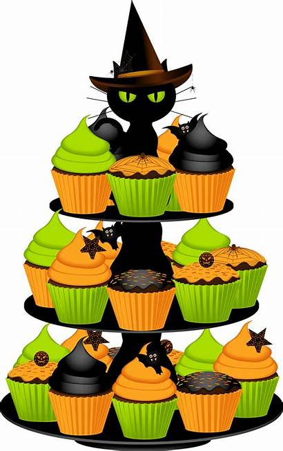 Halloween Clipart Birthday Cupcakes Cliparts Clip Cake