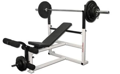 weight set with bench olympic weight bench ebay