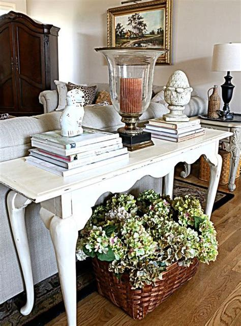 console table used as desk 25 ways to use an antique desk in your interior digsdigs