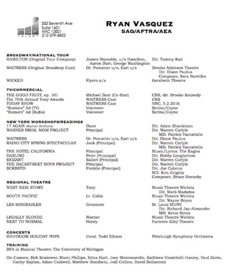 My Resume For Your Perusal by Resume Vasquez