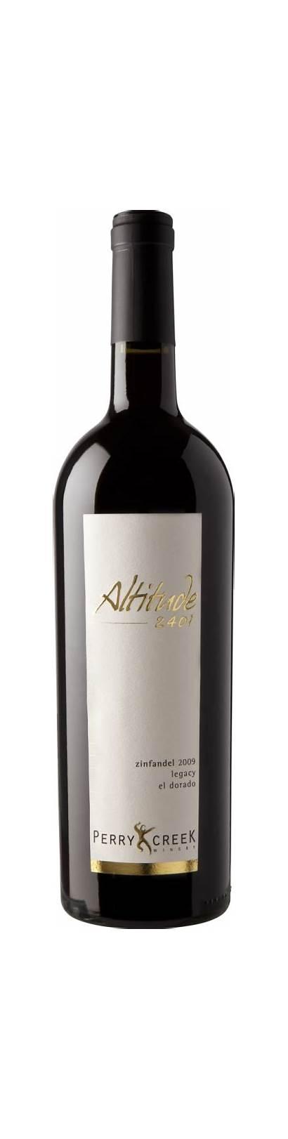 Perry Altitude Creek Winery Zinfandel Wine 2401