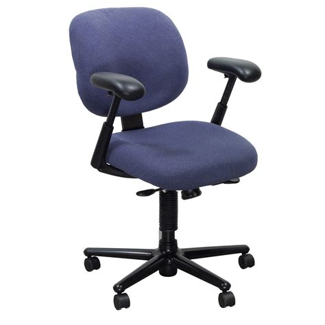 herman miller ergon used task chair blue purple
