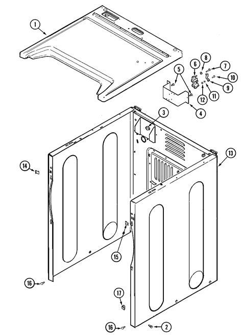 maytag model mdeayw dryer repair