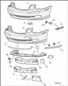 Service Manual  2003 Jaguar X Type Rear Bumper Removal