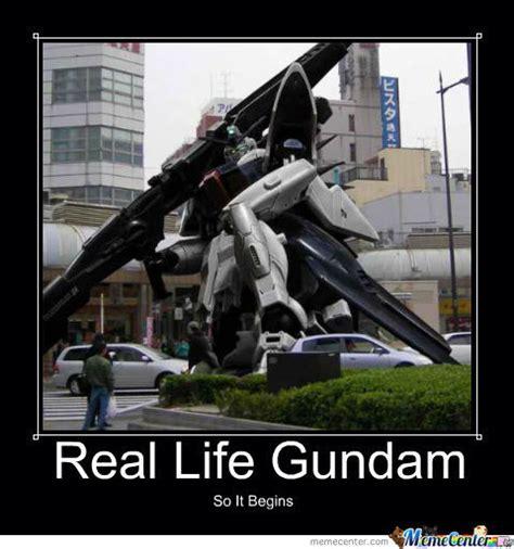 Gundam Memes - real life gundam by origamisenpai meme center