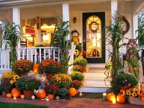 Fall Porch Displays by Still Woods Farmhouse A Welcoming Entryway For Your