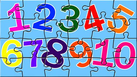 color numbers learn numbers with color book puzzles number song