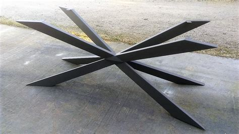 bureau ales table contemporaine bois et metal serrurerie fernandez