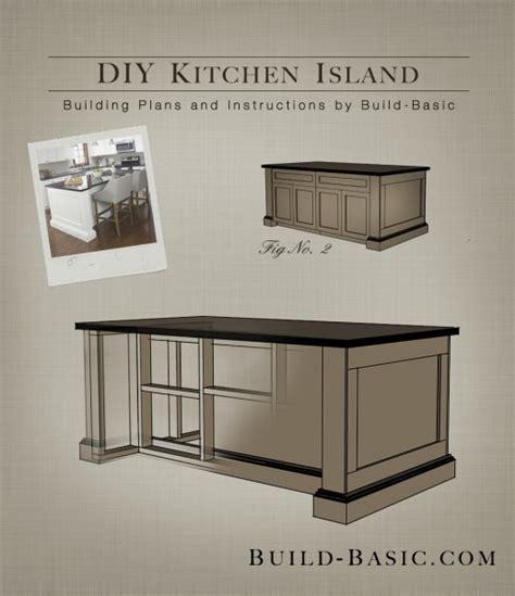 Build A Diy Kitchen Island ‹ Build Basic