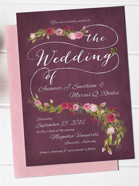 editable wedding invitation templates