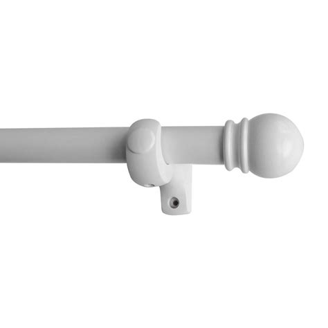 white curtain rod white curtain rod set curtain menzilperde net