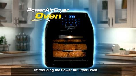 6 Quart Power Air Fryer Oven in Black   Bed Bath & Beyond