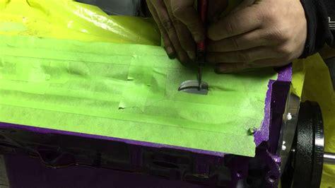 piston  valve clearance fly cutting  pistons  hand