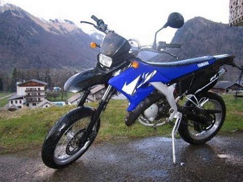 balade en moto 50cc yamaha 50 dt sm de 2007