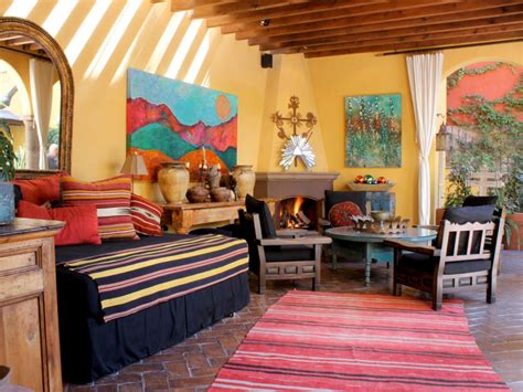 Spanish Decor Living Room by 10 Spanish Inspired Outdoor Spaces Outdoor Spaces