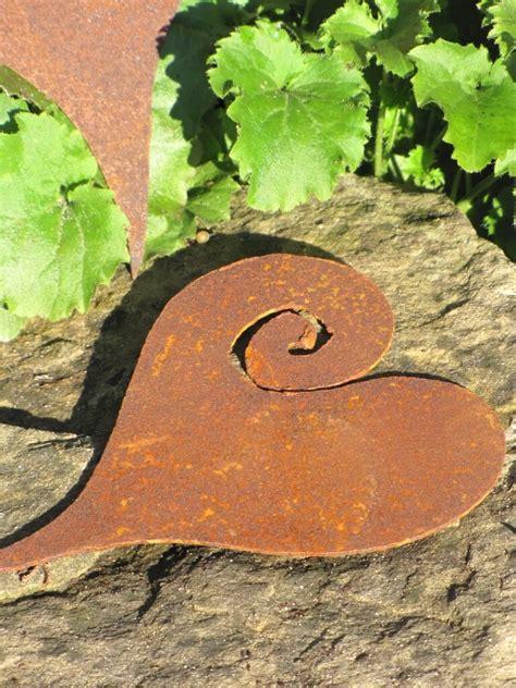 Gartendeko Zum Hängen by Herz Curl Aus Edelrost Zum H 228 Ngen Garden Dekoshop